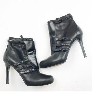Cole Haan Maria Sharapova Heeled Ankle Boots 7